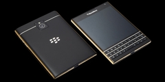 Blackberry Passport 24k Altın